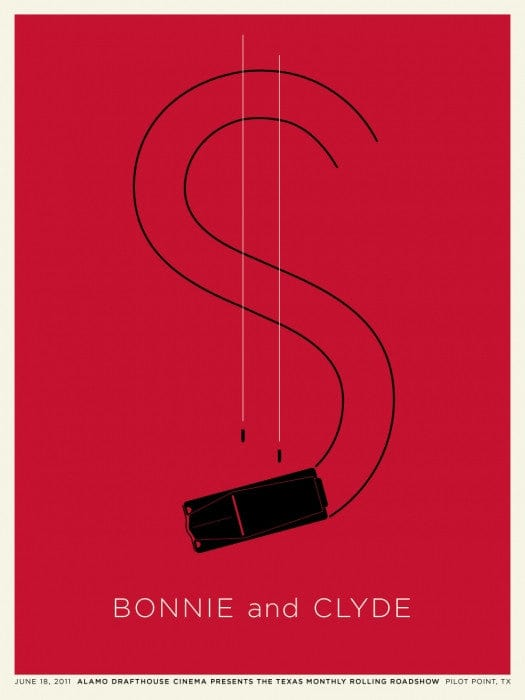 Bonnie And Clyde Jason Munn poster