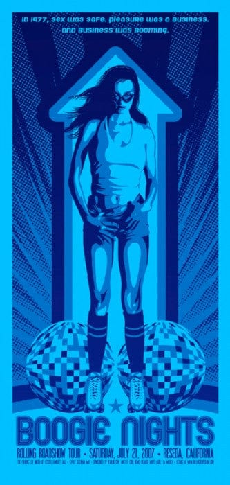 Boogie Nights  Variant Todd Slater poster