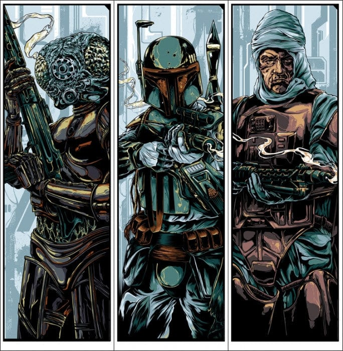 Bounty Hunters  Wave 2 Ken Taylor poster