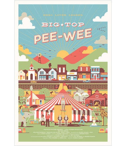 Big Top Pee Wee DKNG poster