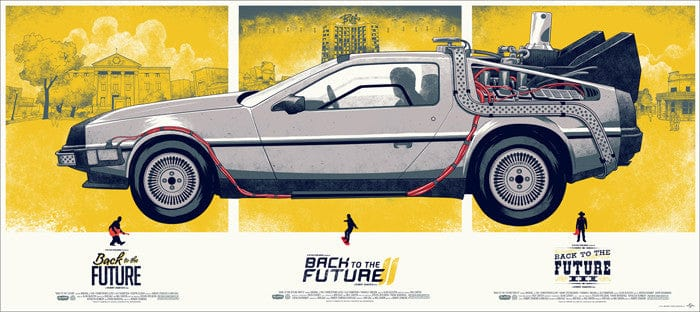 Back to the Future   Combined Variant Phantom City Creative poster