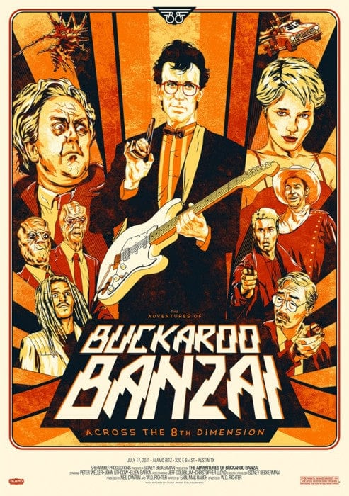 Buckaroo Banzai Phantom City Creative poster