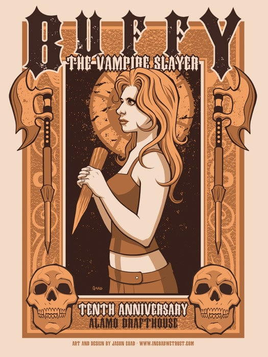 Buffy The Vampire Slayer  Variant Jason Goad poster