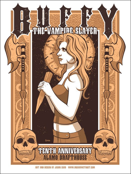Buffy The Vampire Slayer Jason Goad poster