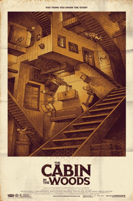 The Cabin in the Woods Phantom City Creative poster