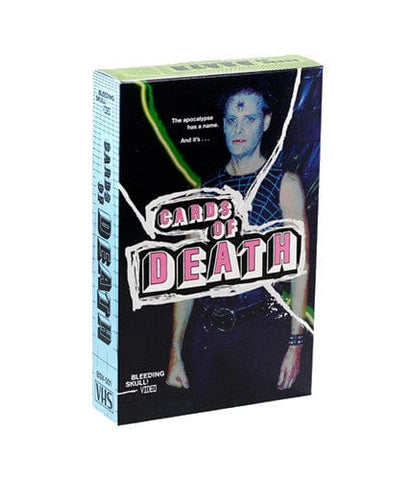 Cards of death vhs