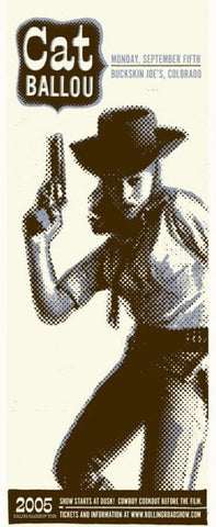 Cat Ballou Decoder Ring Design Concern poster