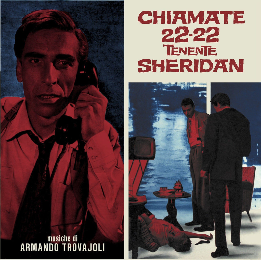 Chiamate 22-22 Tenente Sheridan - Original Soundtrack LP