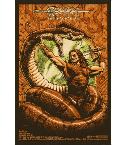 Conan the Barbarian Jason Edmiston poster