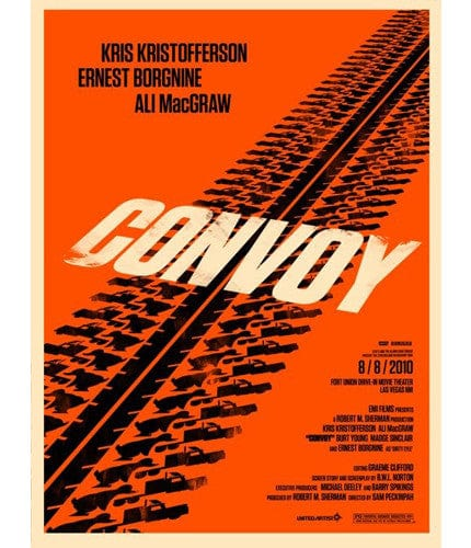 Convoy Olly Moss poster