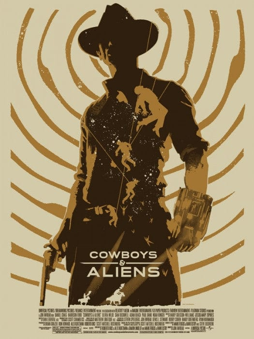 Cowboys and Aliens   Janee Meadows Jan?e Meadows poster