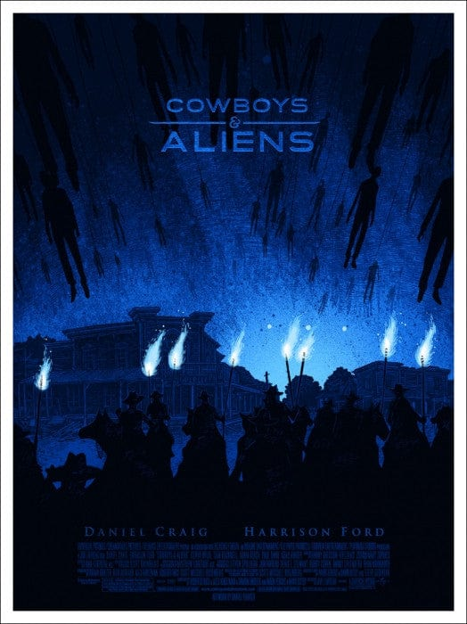 Cowboys and Aliens   Daniel Danger Daniel Danger poster