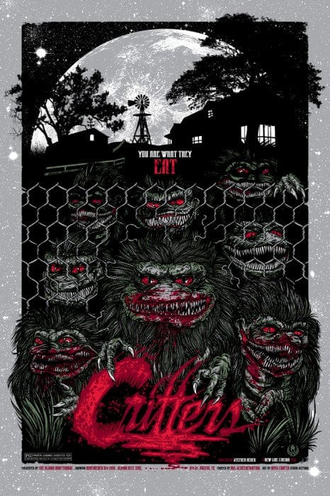 Critters Rhys Cooper poster