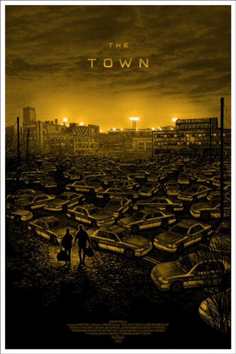 The Town Variant Daniel Danger poster