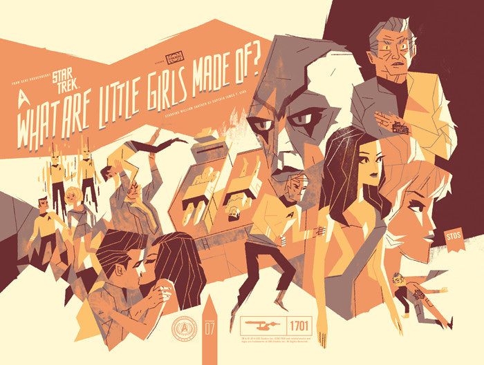 Star Trek What are Little Girls Made Of? Kevin Dart poster