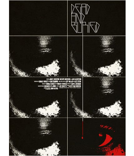 Dead and Buried Jay Shaw poster