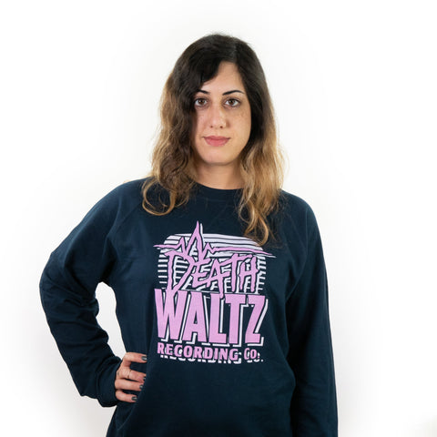 Death Waltz Navy Crew Neck Sweatshirt