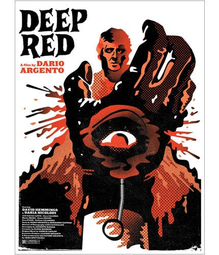 Deep Red We Buy Your Kids poster