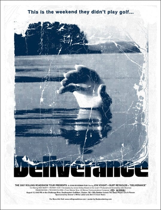 Deliverance Decoder Ring Design Concern poster