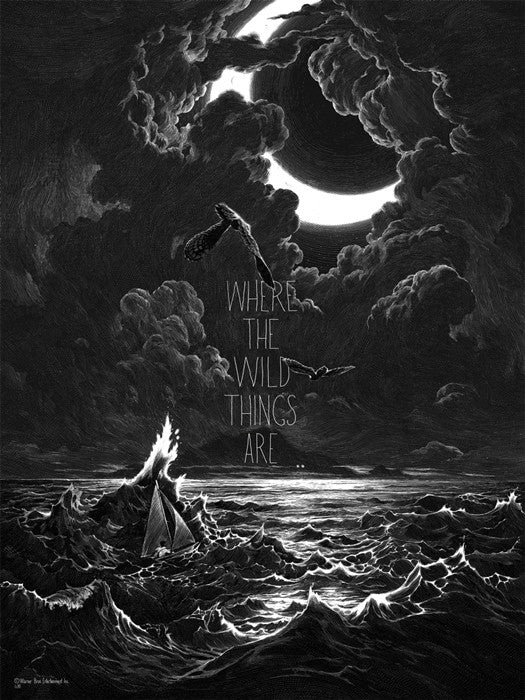 Where the Wild Things Are Delort Nicolas Delort poster