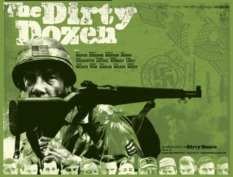 Dirty Dozen The Silent Giants poster