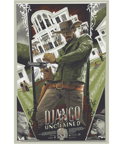 Django Unchained   Kelly Rich Kelly poster