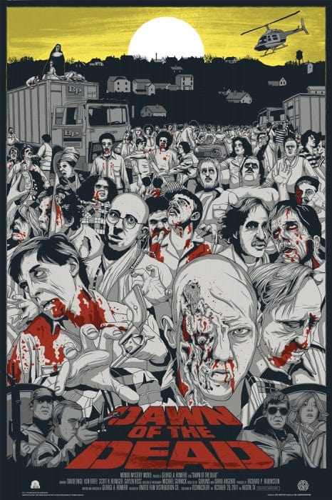 Dawn of the Dead Jeff Proctor poster