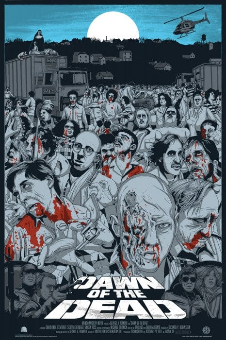 Dawn of the Dead   Variant Jeff Proctor poster