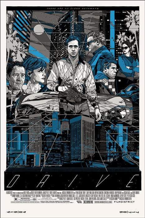 Drive (Cityscape) - Variant-Tyler Stout-poster