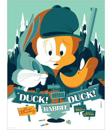 Duck Rabbit Duck Tom Whalen poster