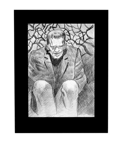 Frankenstein Sketch Laurent Durieux OG