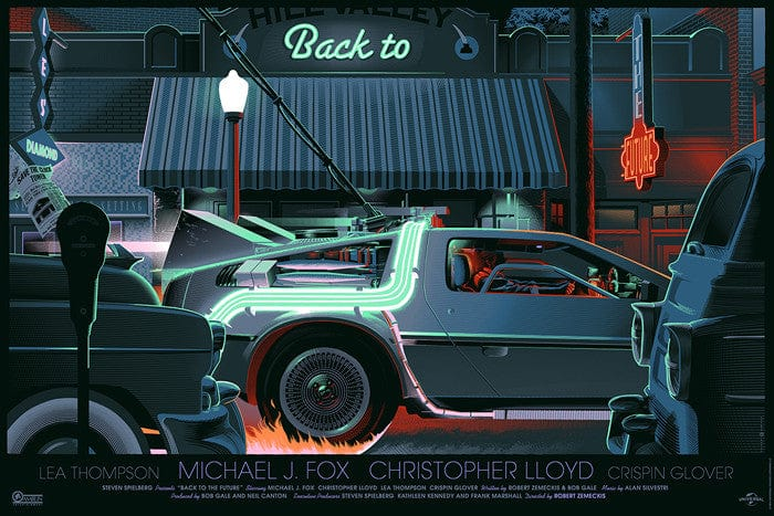 Back to the Future Laurent Durieux poster