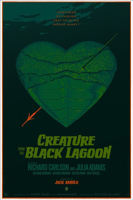 Creature from the Black Lagoon Durieux Laurent Durieux poster