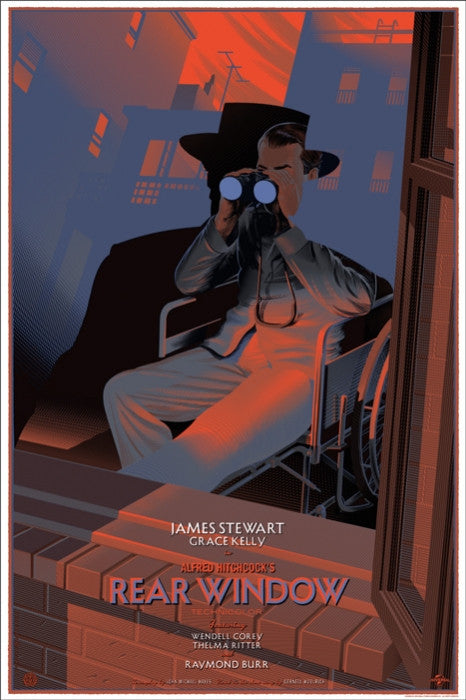 Rear Window Durieux Laurent Durieux poster