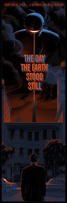 The Day the Earth Stood Still Laurent Durieux poster