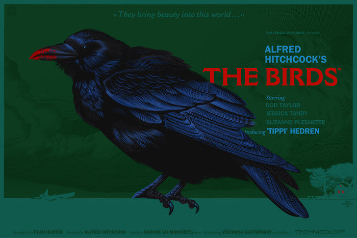 The Birds They Bring Beauty Laurent Durieux poster