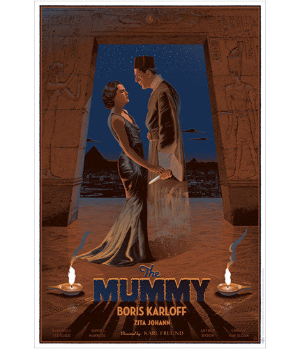 The Mummy   Durieux Laurent Durieux poster