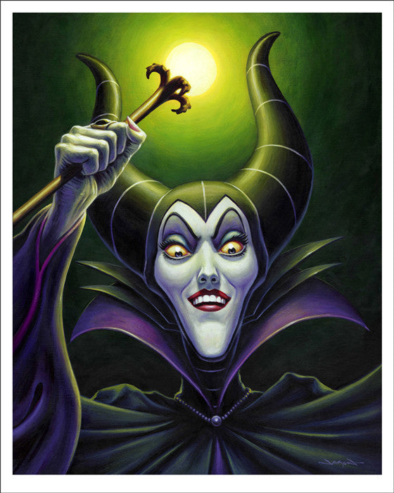 Maleficent Jason Edmiston poster