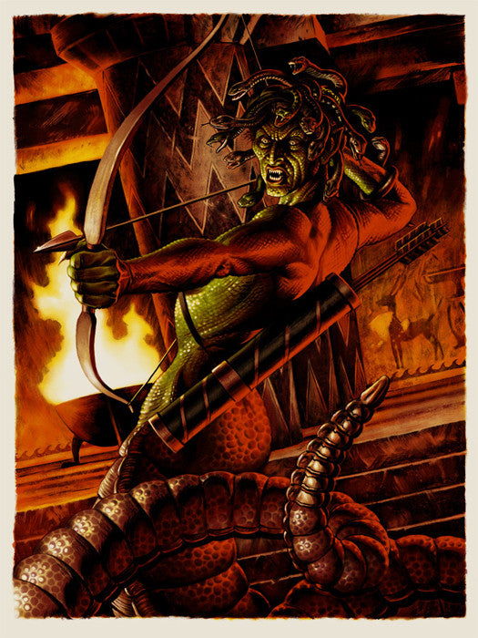 Medusa Jason Edmiston poster