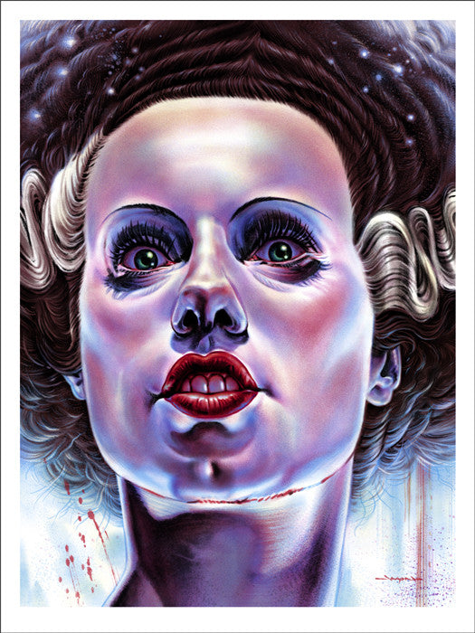The Bride of Frankenstein   Edmiston Jason Edmiston poster