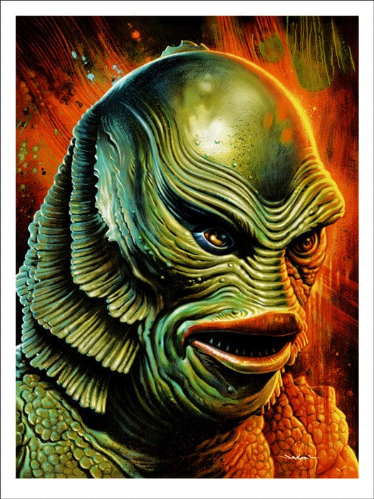 Creature from the Black Lagoon   Edmiston Jason Edmiston poster