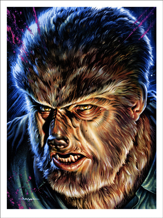The Wolf Man   Edmiston Jason Edmiston poster