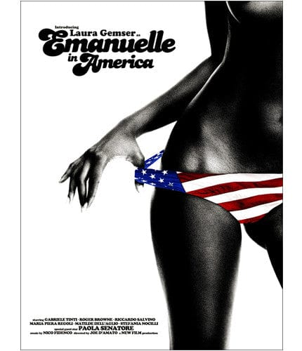Emanuelle in America Jay Shaw poster