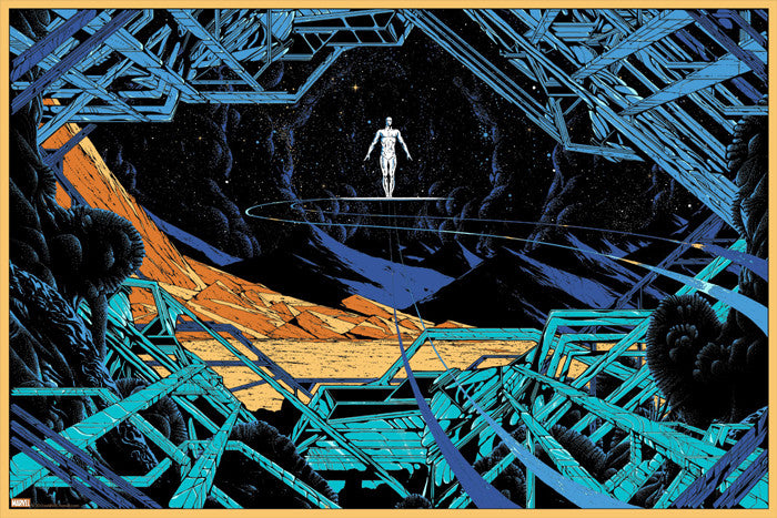 The Silver Surfer Kilian Eng poster