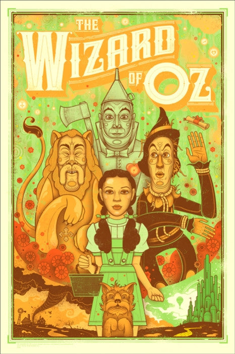 The Wizard of Oz Erwin Graham Erwin poster