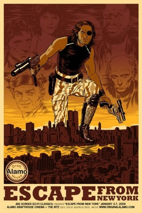 Escape From New York Nick Derington poster