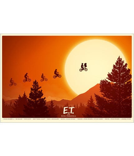 ET the Extra Terrestrial   Mitchell Mike Mitchell poster