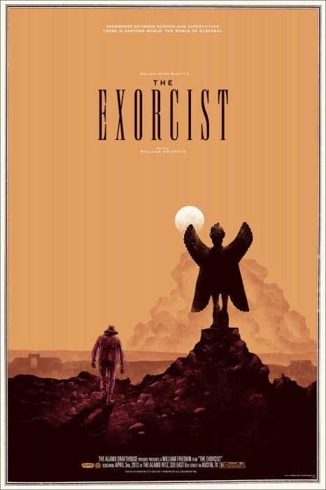 The Exorcist   Variant Phantom City Creative poster