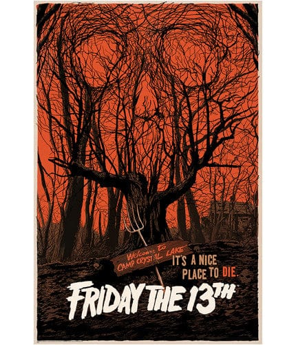 Friday the 13th   Francavilla Francesco Francavilla poster