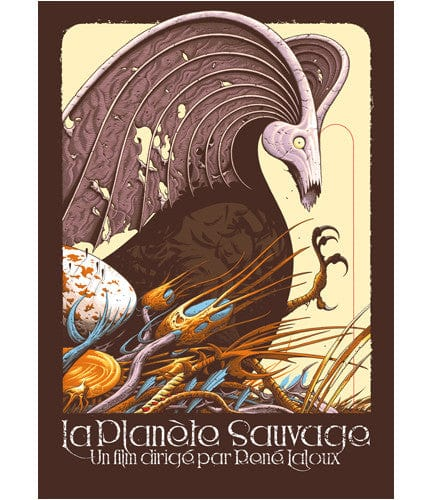 Fantastic Planet Aaron Horkey poster